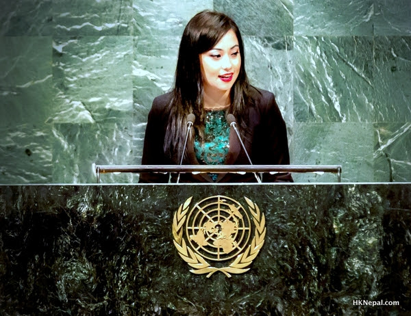 Jolly Amatya – Youth Chair at the Youth Assembly at the United Nations