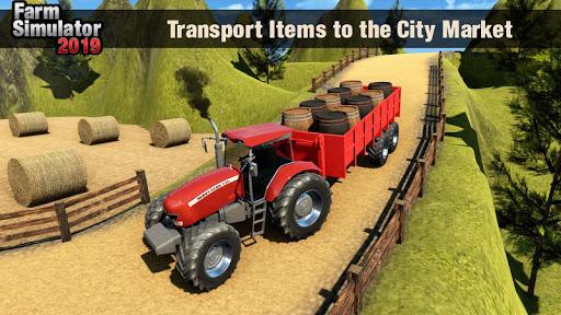 Real Tractor Driver Farm Simulator -Tractor Games 1.2 screenshots 5