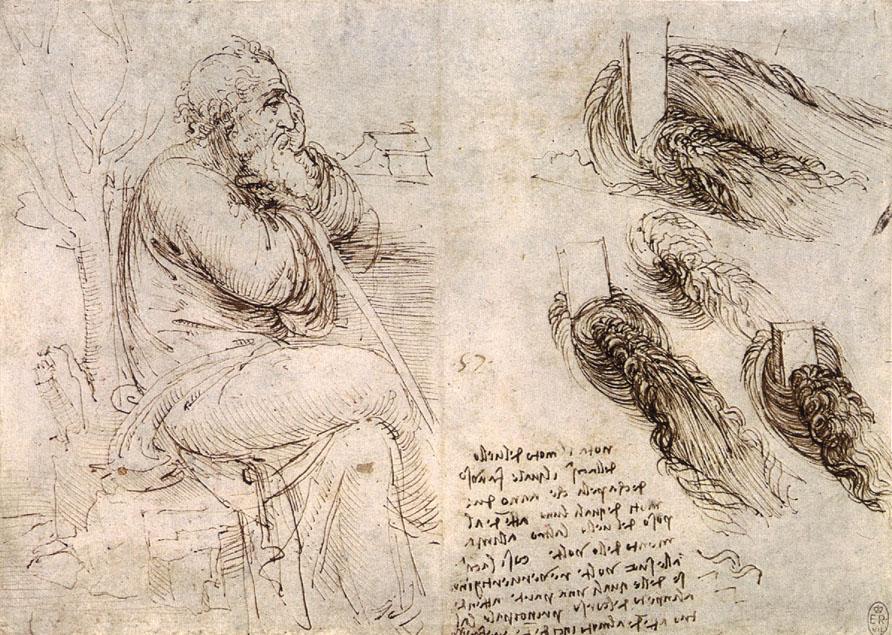 From Leonardo's journals ...