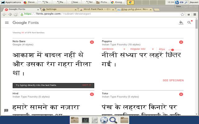 Hindi Font Pack