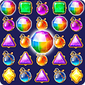 Jewel Castle™ - Classical Match 3 Puzzles icon