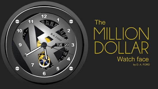 Million Dollar Watch Face- screenshot thumbnail