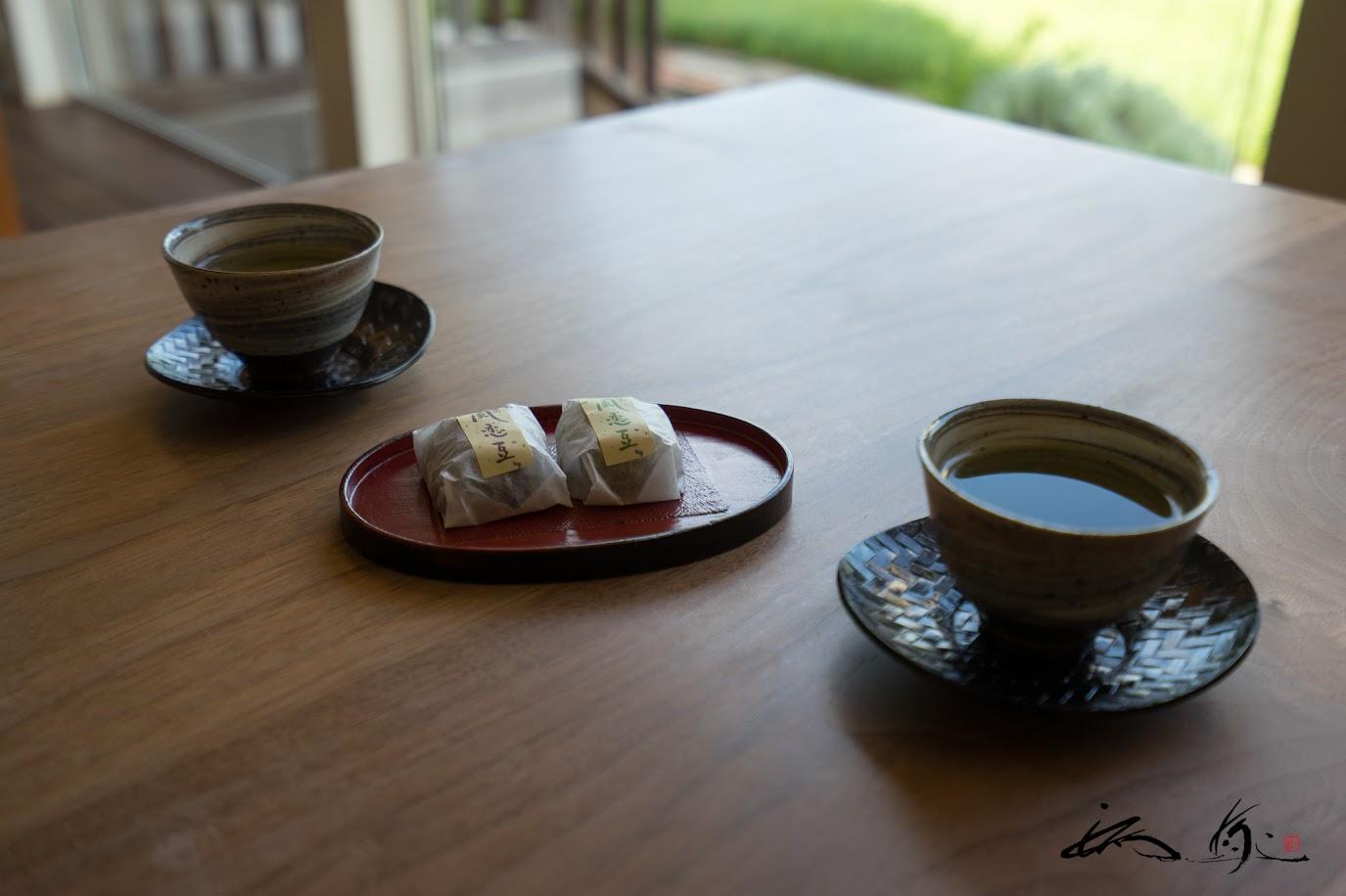 和菓子「風恋豆」のおもてなし