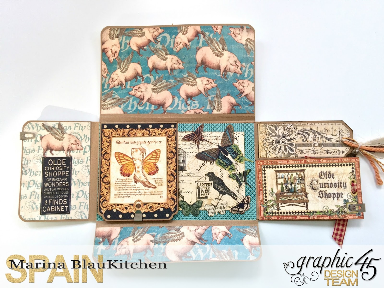 Olde Curiosity Shoppe Flip Flap Mini Album by Marina Blaukitchen Product by Graphic 45 photo 9.jpg