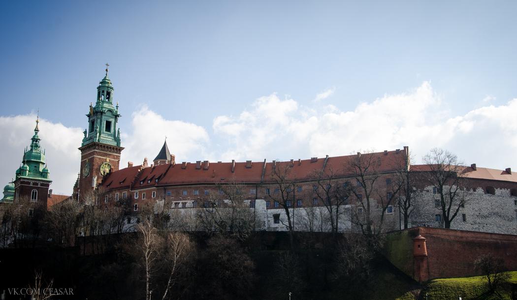 Крепость в Кракове