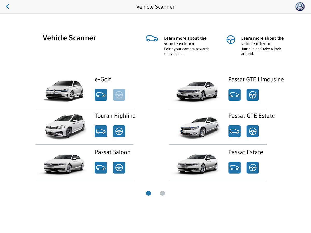 Volkswagen seeMore- screenshot