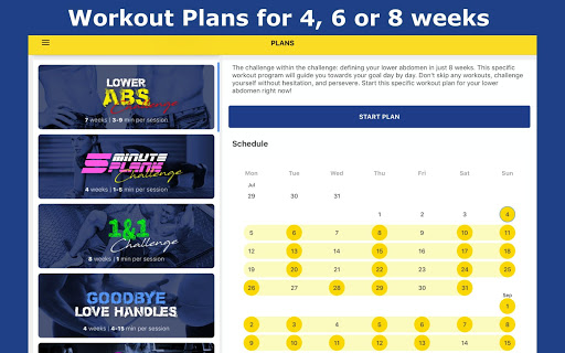 8 Minutes Abs Workout screenshot 16