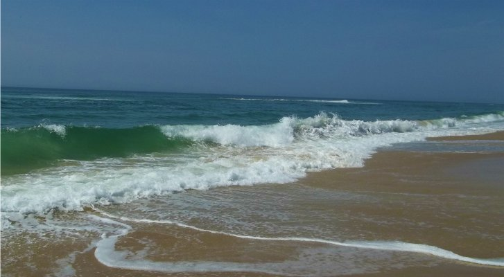 Photo: Enjoy Nags Head's beautiful beach, right across from the Tar Heel Motel