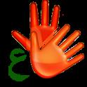 Sign Language Dictionary Arab icon