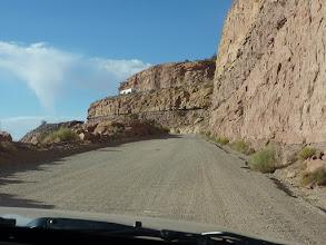 Photo: La Mokee Dugway escalade la falaise