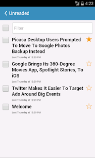 SynRSS reader- screenshot thumbnail