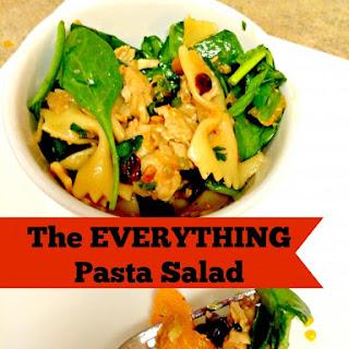 The EVERYTHING Pasta Salad.