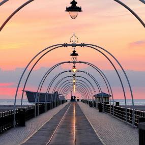 Pier light  by Pat Regan - Uncategorized All Uncategorized (  )