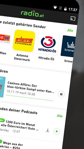 radio.at - Radio und Podcast screenshot 2