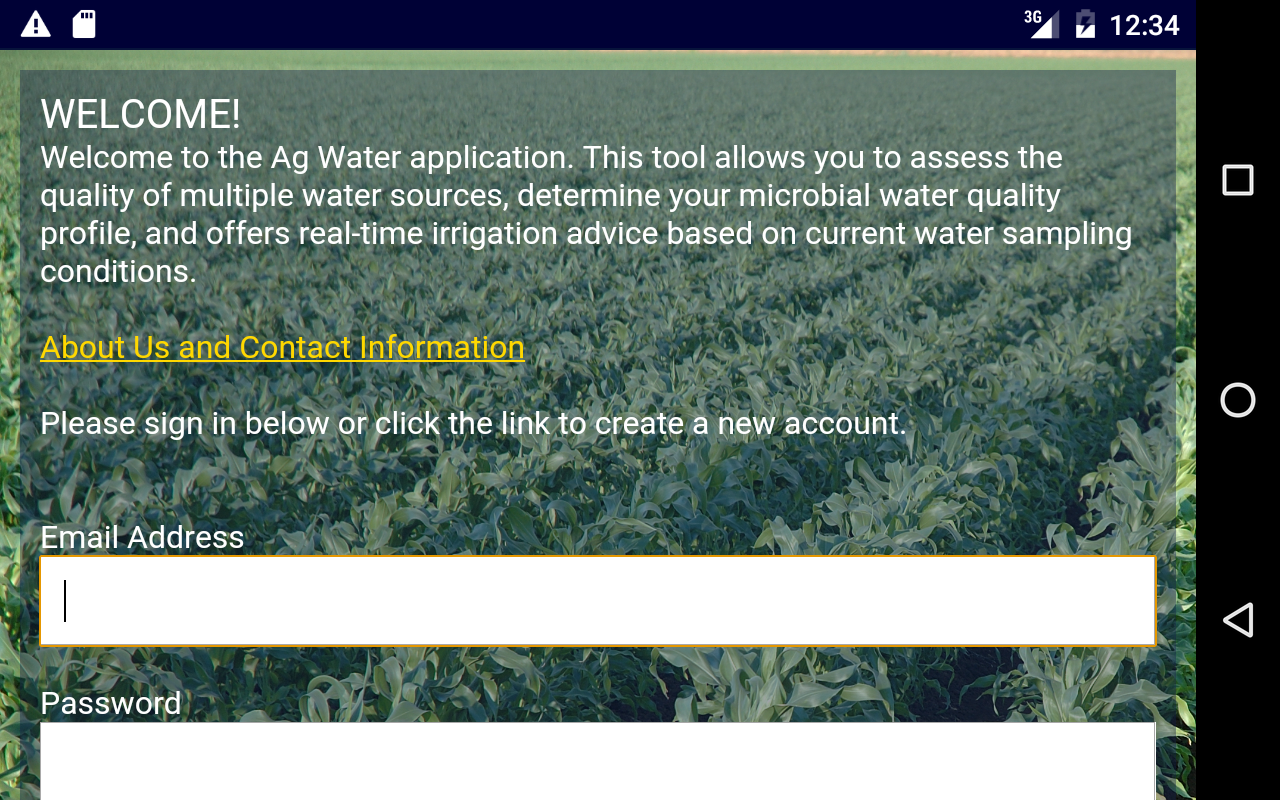 Ag Water- screenshot