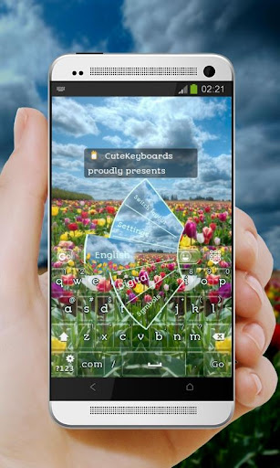 Tulip Field GO Keyboard