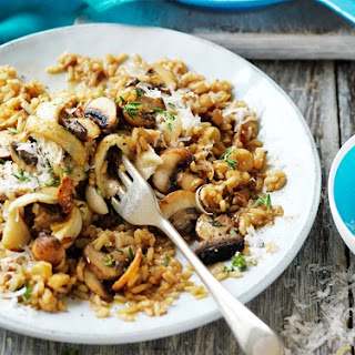 Brown Rice Risotto Healthy Recipes