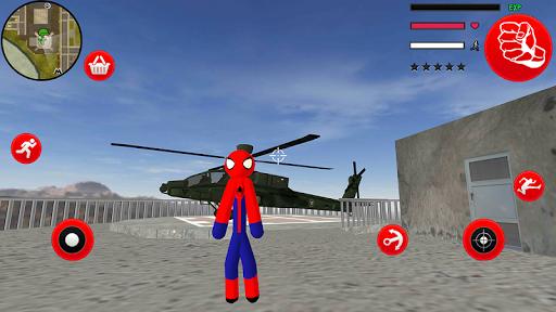 Amazing Spider-StickMan Rope Hero Gangstar Crime filehippodl screenshot 4