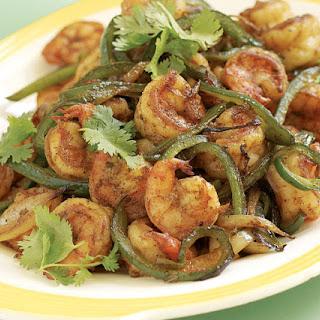 Savory Shrimp Fajitas