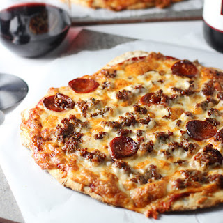 Copycat Imo's St.Louis Style Pizza with No Yeast, No rest Crust.