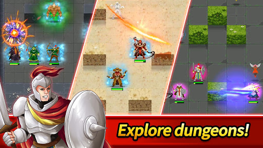 Dunidle: Dungeon Crawler & Idle Hunter Boss Heroes screenshot 1