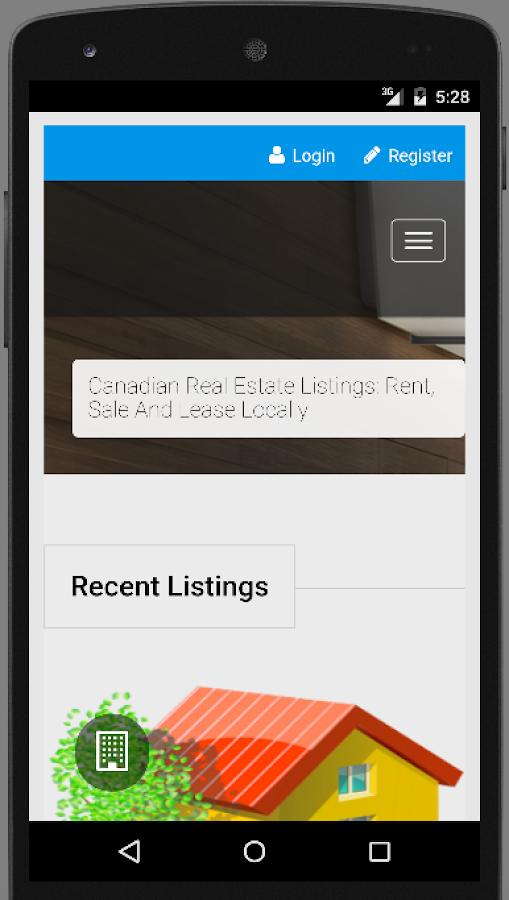 Real Estate Listings Canada- screenshot