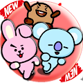 BT21 Sticker WhatsApp - KPOP Stickers Fans Apk