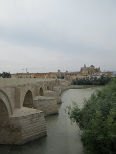 Photo: The Roman Bridge and the city of Córdoba. The bridge was first built in the early 1st century BC.