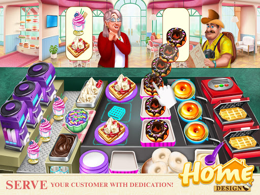 Home Design - Cooking Games & Home Decorating Game  screenshots 10