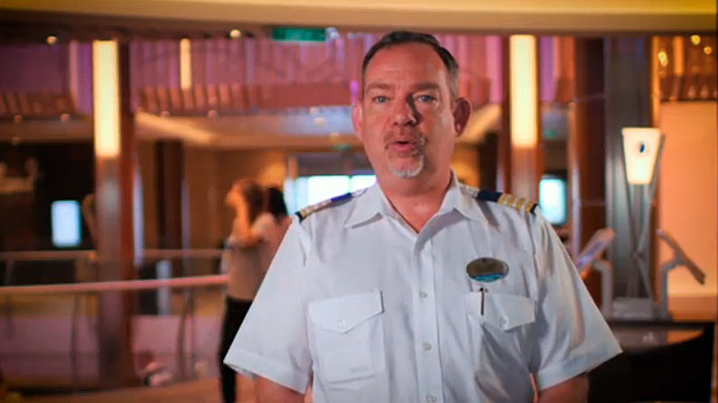 Hotel Director Gary Davies looks after details that impact the guest experience on board.