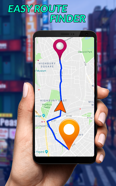 GPS Satellite Maps Direction & Navigation APK Download - Apkindo co id