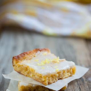 Lemon Blondies Recipe
