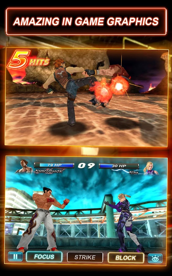 Tekken Card Tournament (CCG)- screenshot