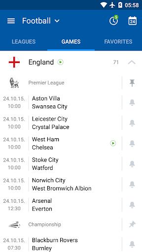 SofaScore - Live Scores, Fixtures & Standings 5.78.4 screenshots 2