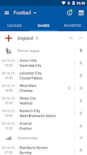 App SofaScore - Live Scores, Fixtures & Standings APK for Windows Phone