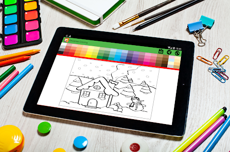 Download Free Christmas Coloring Book 2018 For Kids PC On Windows And Mac Apk Screenshot