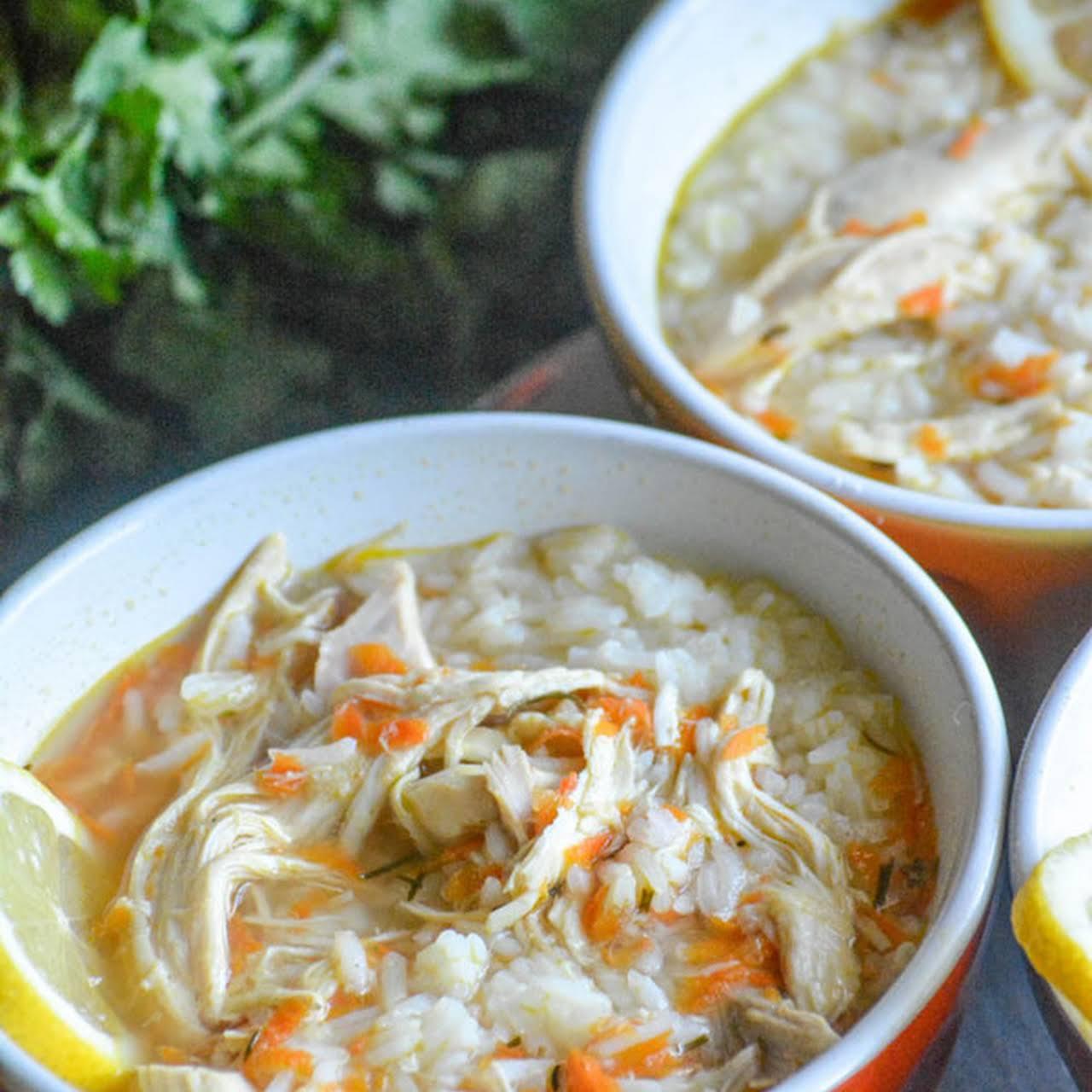 Copy Cat Tazikis Greek Lemon Chicken Soup