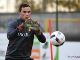 Jens Teunckens, doelman van Antwerp en Jonge Duivels, is geblesseerd