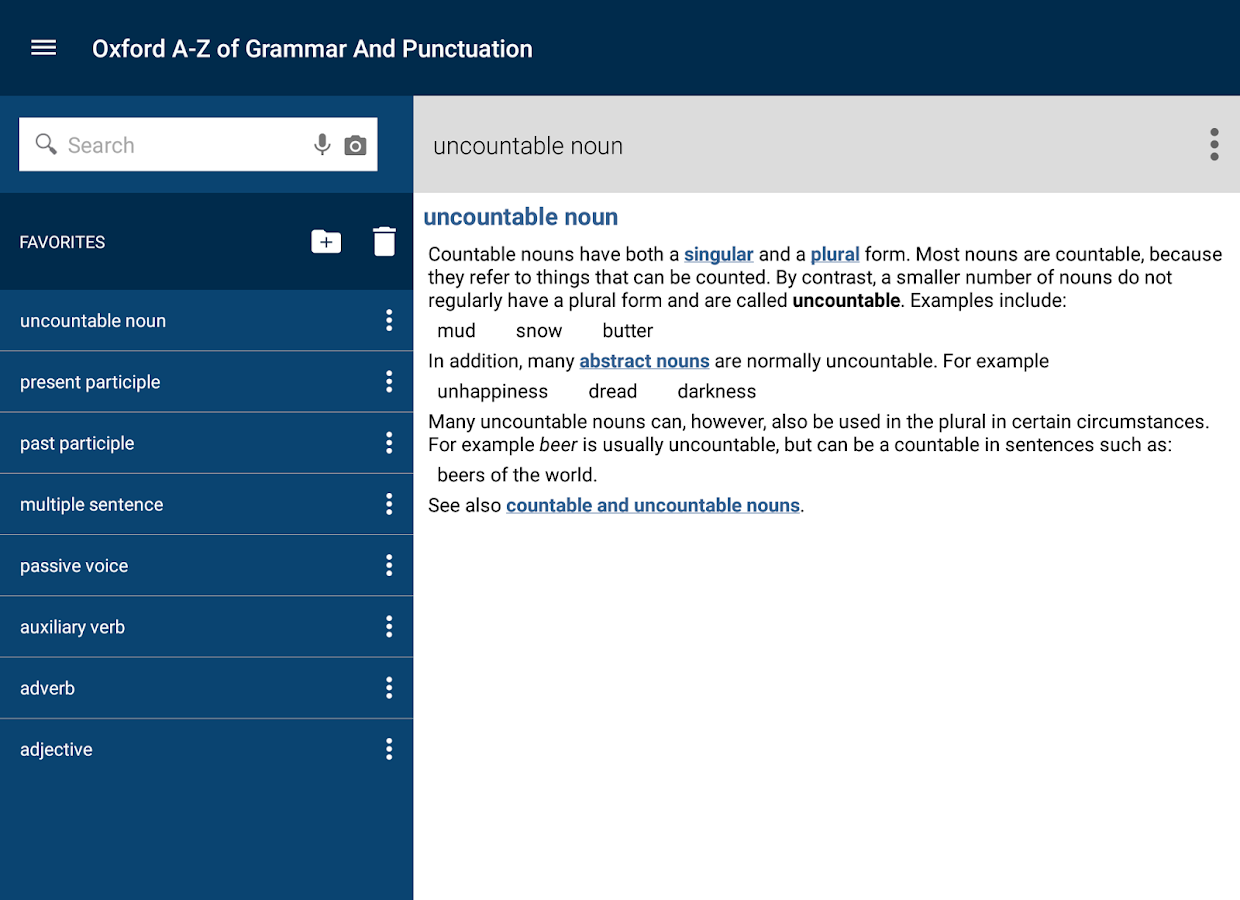 Oxford Grammar and Punctuation- screenshot