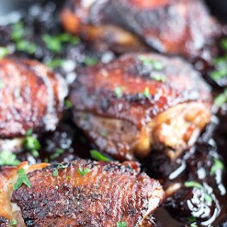 Roasted Black Cherry Balsamic Chicken