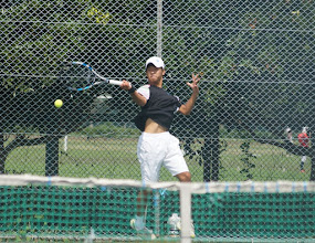 Photo: 寒川(2年)は最終戦に出場し来年に繋がる初勝利を挙げた。