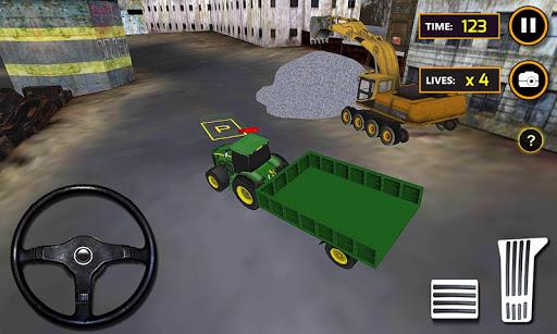 拖拉机具体挖掘机:欧普