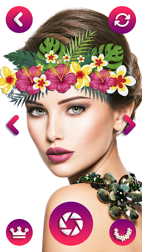 Flower Crown Photo Editor - Snappy Photo Filters  screenshots 1