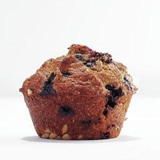 Banana-Blueberry Bran Muffins