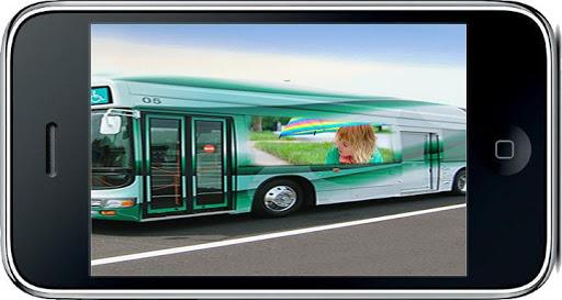 Luxury Bus : Photo Frame