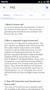 Indian Income Tax Info/Savings/Calculators App Download For Android 5