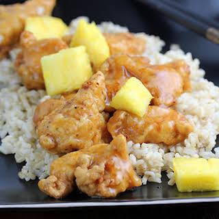 Chinese Pineapple Chicken.