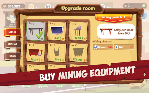 Mining Simulator - Idle Clicker Tycoon apktram screenshots 3