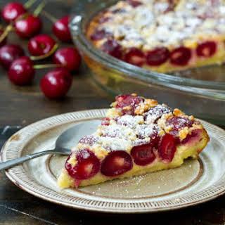 Cherry Clafoutis.