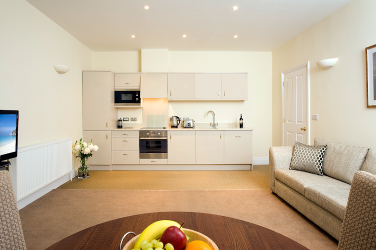 Fully equipped kitchen at Castle Crescent